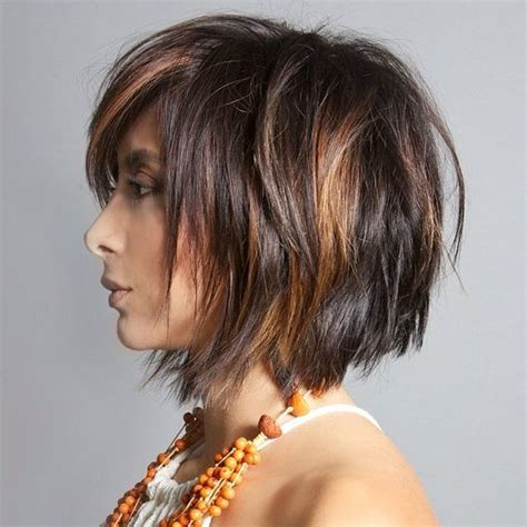 medi hair styles medi layered angled bob with bangs short hairstyle 2013