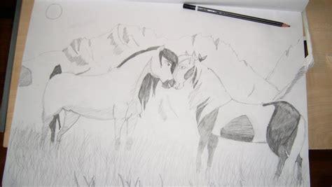 sketch book vk spirit stallion of the cimarron drawing by flowersblue98