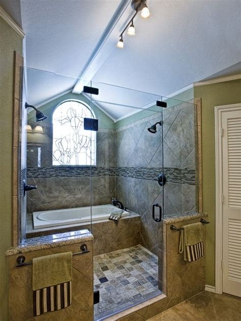 wow the tub and shower together home improvements