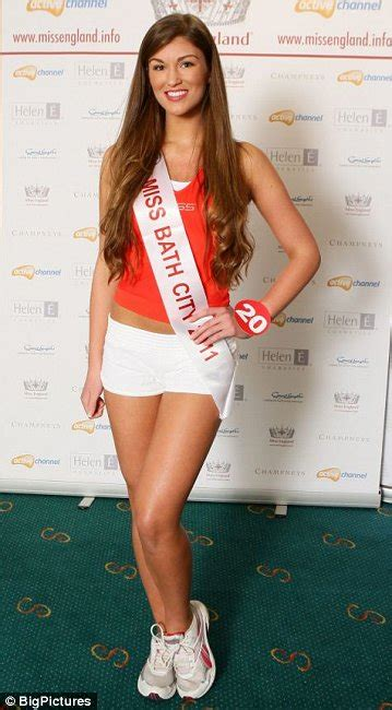 amy anderson bathroom pictures miss england semi finals 2011 metro uk
