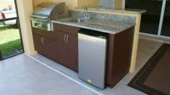 Polymer Cabinets For Outdoor Kitchens Weatherproof Polymer Cabinetry In Southwest Floridaoutdoor Kitchen Naples Fl Tropical