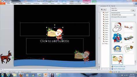 Animated Card Powerpoint Template by How To Make Simple Animated E Card Using Powerpoint