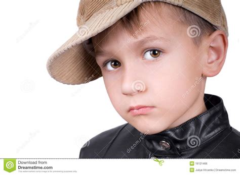 young boys young boy in hat royalty free stock image image 16121466