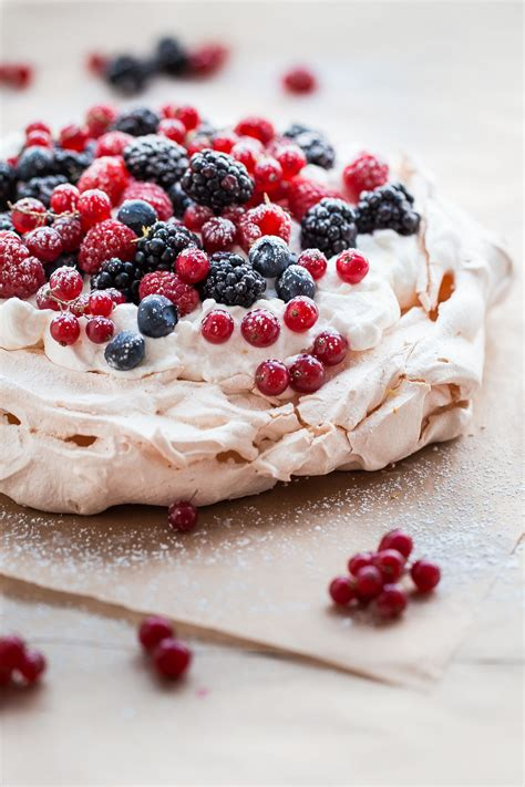 Pavlova For Pavlova by Berry Pavlova With Lemon A Beautiful Plate