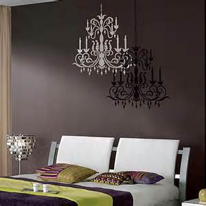 Wall Stencil Stickers Chandelier Stencil Large Modern Stencils For Easy Wall