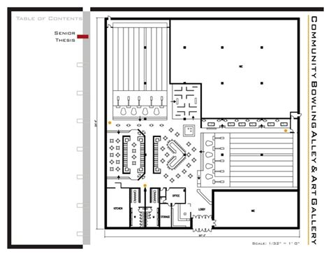 bowling alley floor plans bowling floor plan images