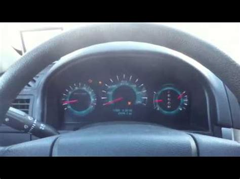 electronic stability control 2007 ford fusion instrument cluster 2010 ford fusion instrument cluster problems youtube