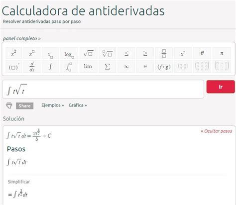 calculadora para calculo anual 2015 calculadora para antiderivadas calculo