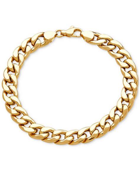 Gelang Hermes Bracelet s heavy curb link bracelet in 10k gold bracelets