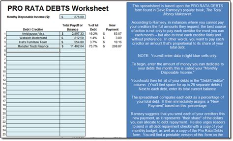 all worksheets 187 dave ramsey total money makeover
