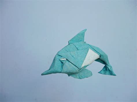 How To Make Origami Dolphin - origami dolphin comot