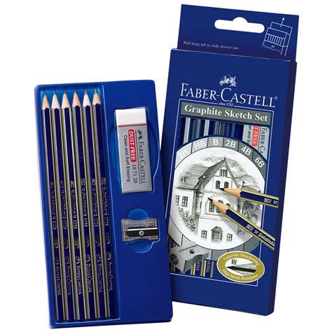 sketchbook faber castell faber castell 174 graphite sketch set