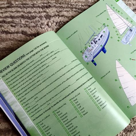 sailing boat parts quiz sailing lessons