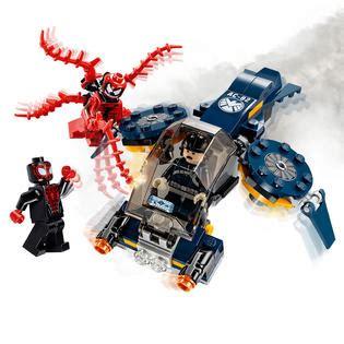 Lego Marvel 76036 Carnage Shield Sky Attack lego heroes marvel carnage s shield sky attack