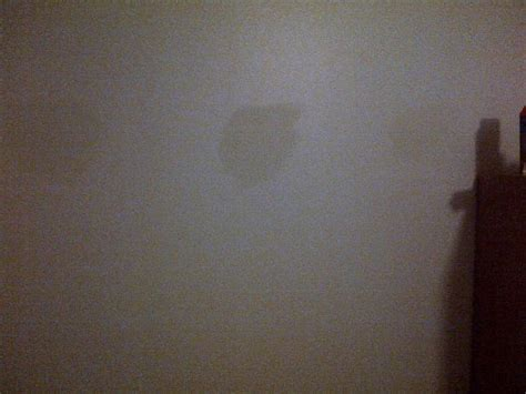 Small D Patch On Interior Wall by Spots On Walls After Application Of Paint Help