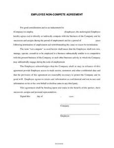 Free Employee Non Compete Agreement Template employee non compete agreement hashdoc