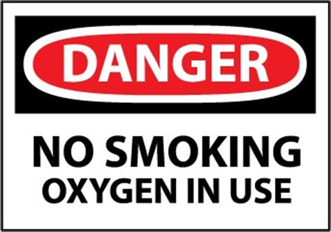 no smoking oxygen in use sign r5400 by safetysign com danger sign no smoking oxygen in use