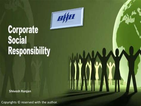 Corporate Social Responsibility Mba Project Report by Bhel Corporate Social Responsibility Report 1