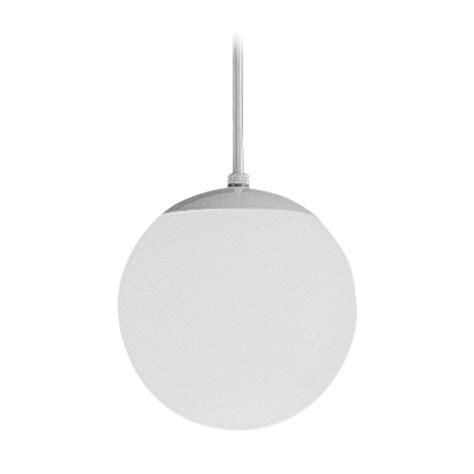Mini Globe Pendant Light Progress Globe Mini Pendant Light With White Glass 8 Inches Wide P4401 29 Destination Lighting