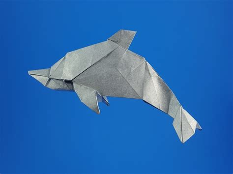 origami dolphins page 1 of 2 gilad s origami page