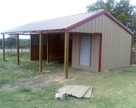 Two Stall Horse Barn Site Unavailable