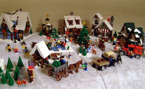 Train Table Sets 2012 Lego Winter Village Vonholdt