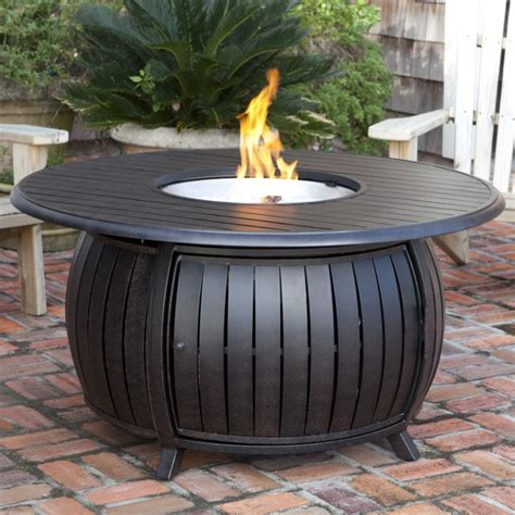 patio propane pit sense propane pit patio table extruded