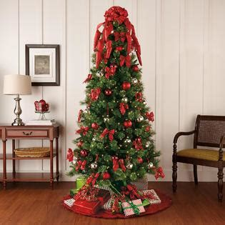 complete christmas tree trimming kit and green themed traditional tree decorating kit seasonal tree