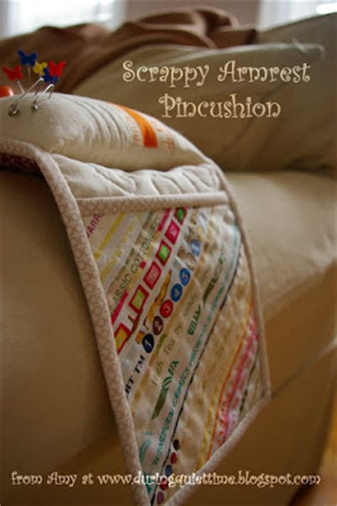 armchair pincushion a pincushion caddy for your favorite armchair quilting