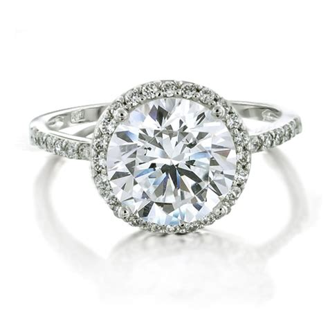 fresh vintage silver wedding rings with cz