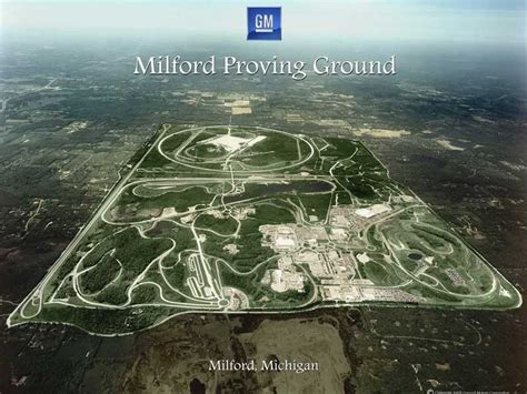 The Proving general motors milford proving ground s 90th birthday