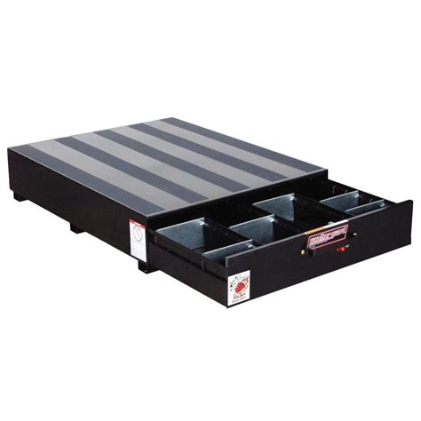 truck bed drawers silverado weather guard steel pack rat drawer unit in black 338 5