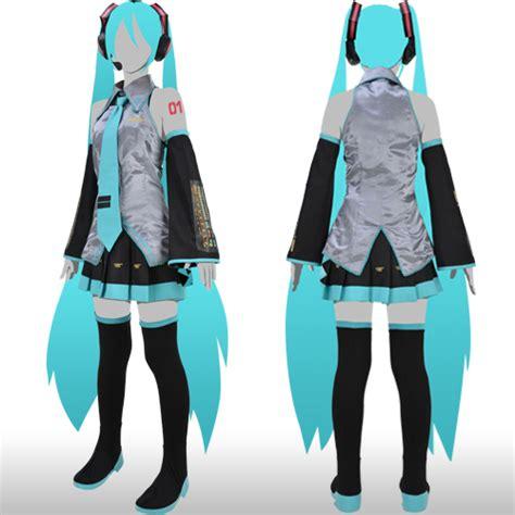 Baju Kostum Anime Costume Anime Live Rin Import hatsune miku s 1st official costume set offered interest
