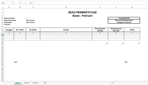 format buku kas pembantu unduh format laporan situs bantuan