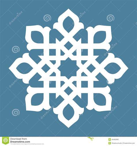 islamic pattern circle vector abstract design stock vector illustration of borders