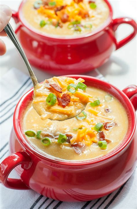Soups On Soup by Cooker Sweet Potato And Cauliflower Soup
