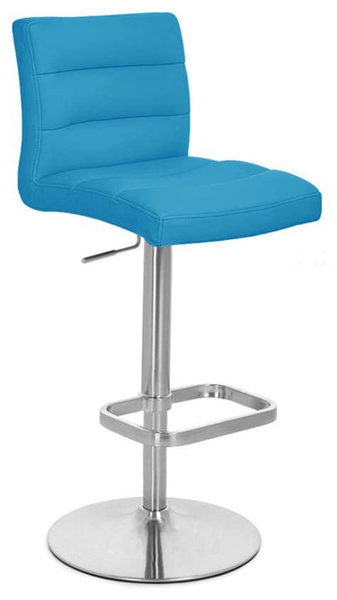 teal lush adjustable height bar stool bar