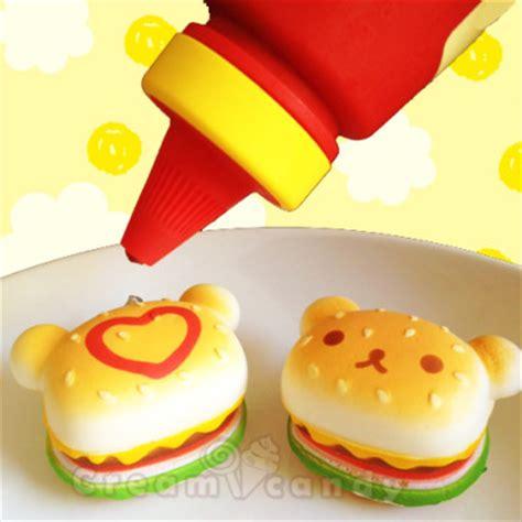Squishy Rillacuma Burger rilakkuma baby burger squishy