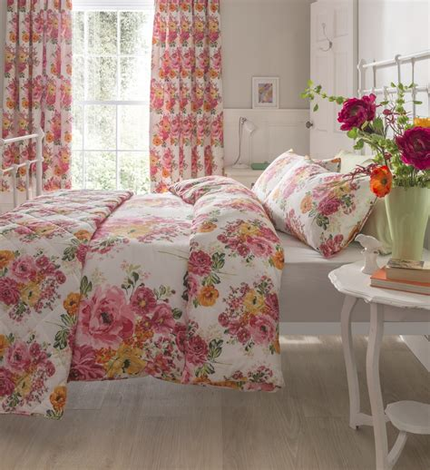 shabby chic floral bedding floral quilt duvet cover bedding bed sets 3 sizes