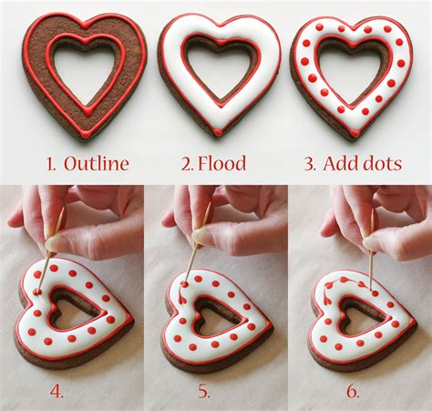 how to make valentines cookies simple valentine s cookies decorating how to