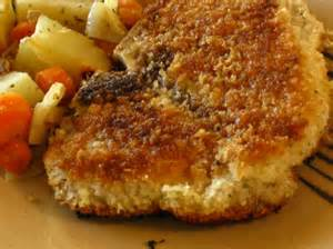 oven fried pork chops recipe food com