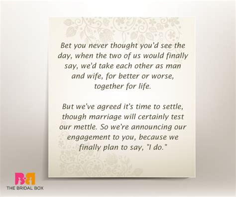 Wedding Engagement Quotes by 7 Well Put Engagement Invitation Quotes