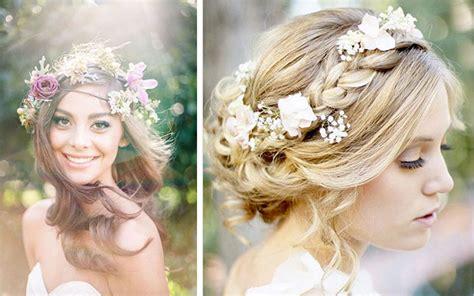 Hochzeitsfrisur Boho by свадебные украшения для прически советы стилиста 30 фото