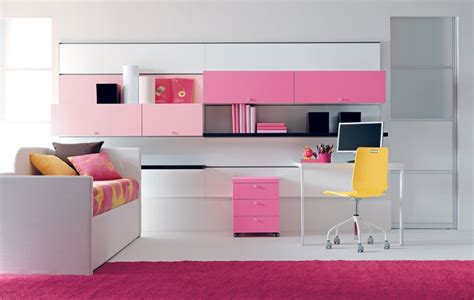 cool girl rooms cool pink girls bedroom designs from doimo city line