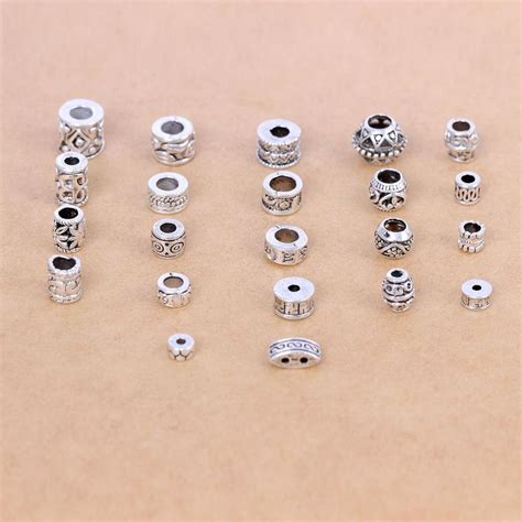make silver jewelry jewelry tibetan silver spacer for diy