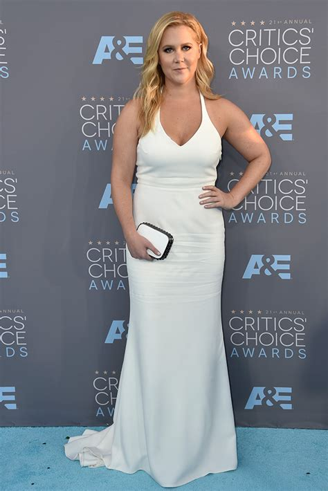 Critics Choice Awards Snow by Schumer Takes Manolo Blahnik Sandals At Critics