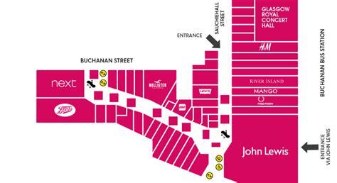 Buchanan Galleries Gift Card - centre map buchanan galleries
