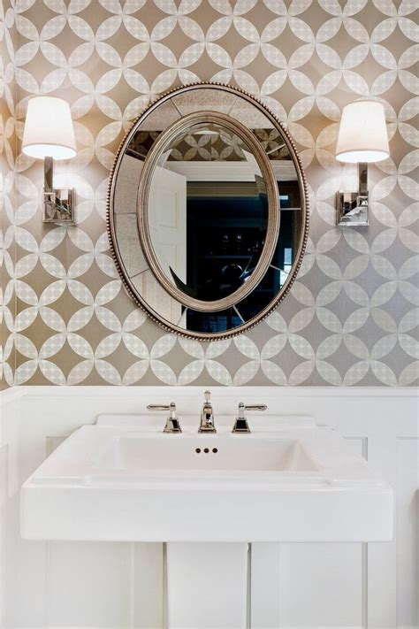 cool decorative oval mirrors bathroom decorating ideas