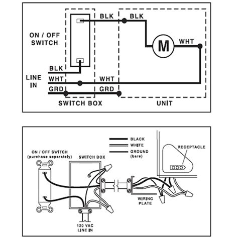 nutone exhaust fan wiring diagram nutone range wiring diagram 32 wiring diagram