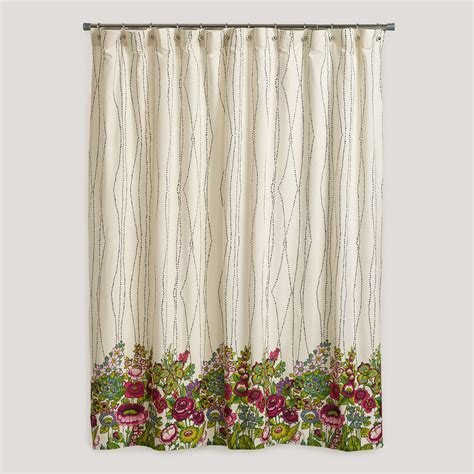 rosalita shower curtain from cost plus world market apt